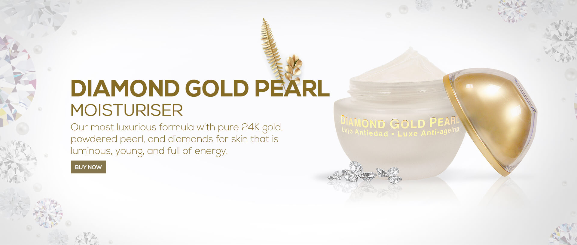 Diamond Gold Pearl Moisturiser