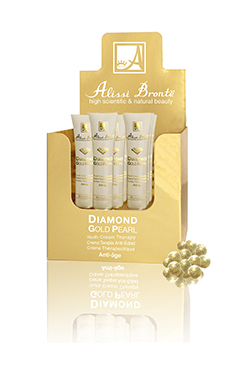 Diamond Gold Pearl Cream Therapy Anti-Age 20pcs x 5ml