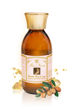 Pure Gold 24K Dry Oil with Gold & Argan Nectar 150ml